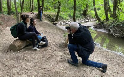 Shooting photo balade autour du miel
